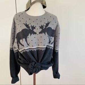Weatherproof Sweaters - C O Z Y Moose Sweater